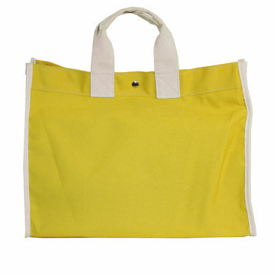classic field bag - yellow/natural