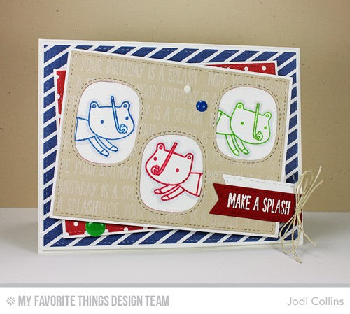 My Favorite Things - Mirror Image Clear Stamp