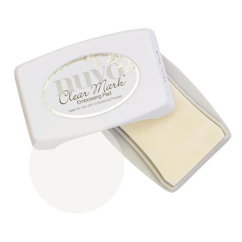 Nuvo ink pads clear mark embossing pad