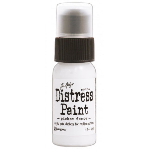 Tim Holtz - distress paint picket fence