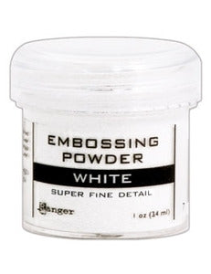 Embossing Powder Ultra Fine White