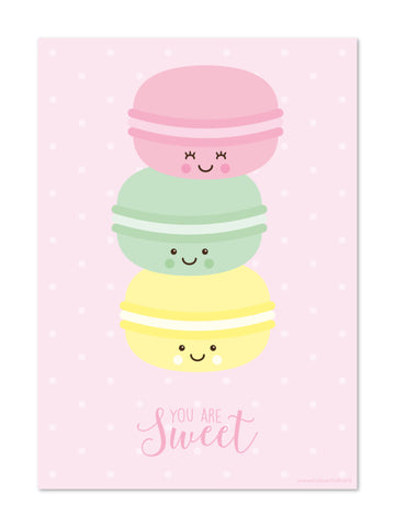 Studio Schatkist - Poster A4 | You are sweet