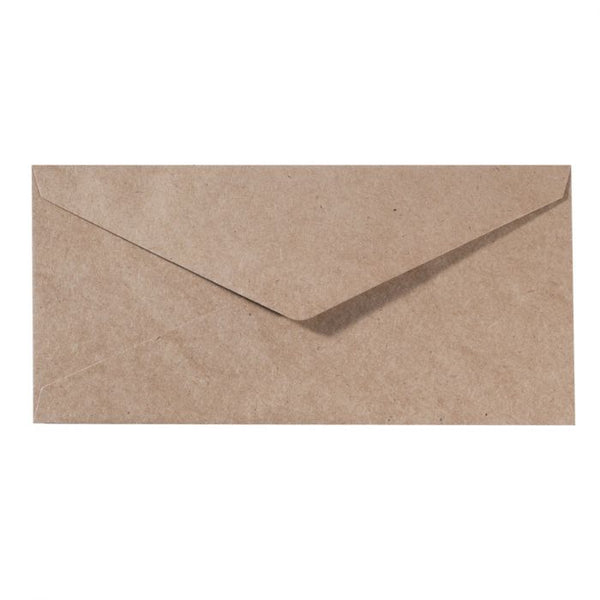 Cloud9 Crafts - Slimline Envelopes Kraft 11,5x22,5cm - 25pcs
