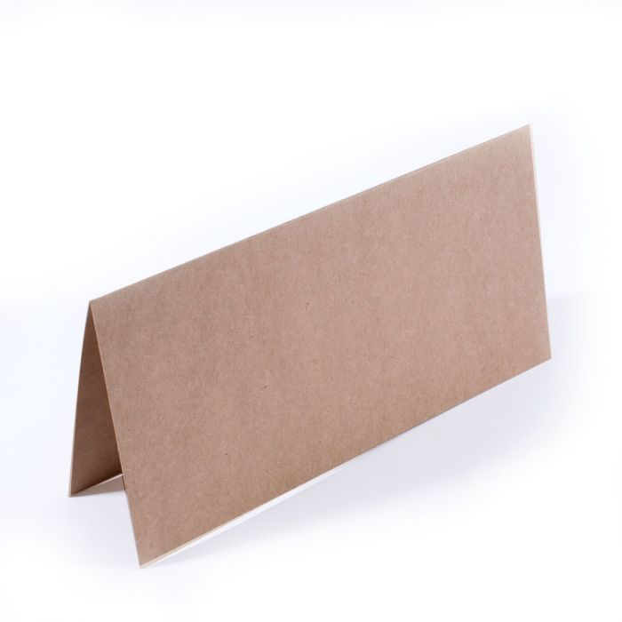 Veassen Creative - Double folded Slimline Base Cards Kraft (25pcs)