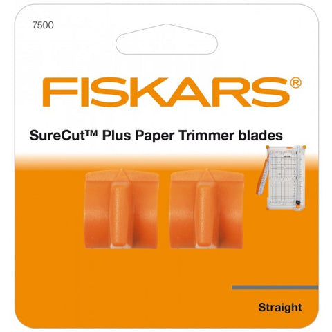 Fiskars - Refill Blades for SureCut Paper Trimmer - Straight Cutting 2st