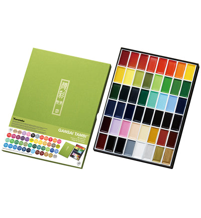Kuretake - Gansai Tambi Set 48 colors