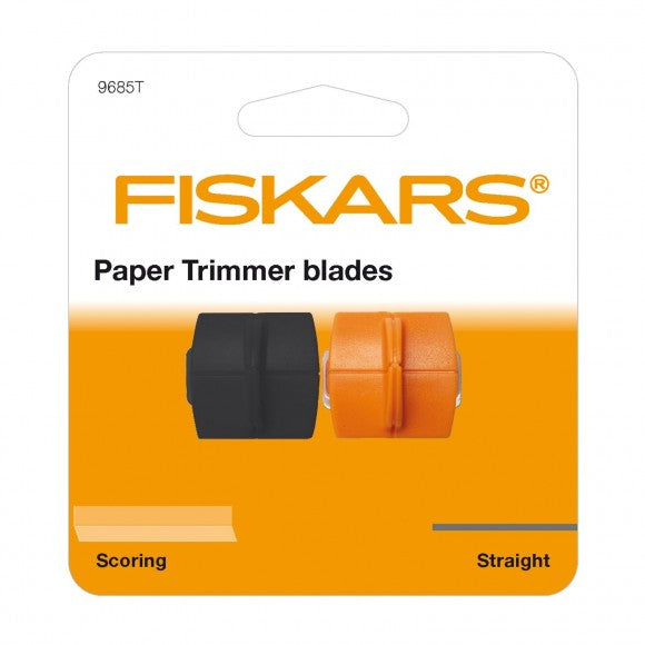 Fiskars - Refill blades for Personal Paper Trimmer - Straight & Scoring