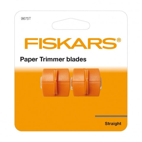 Fiskars - Refill Blades for FiskarsPaper Trimmer - Straight Cutting 2st