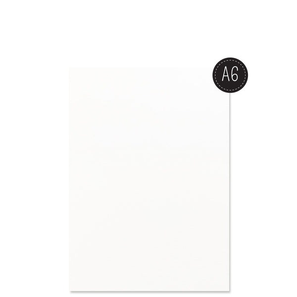 Vaessen Creative - Florence Watercolor paper smooth White A6 100pcs