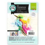 Vaessen Creative - Florence Aquarelpapier smooth White A5 15pcs 300g