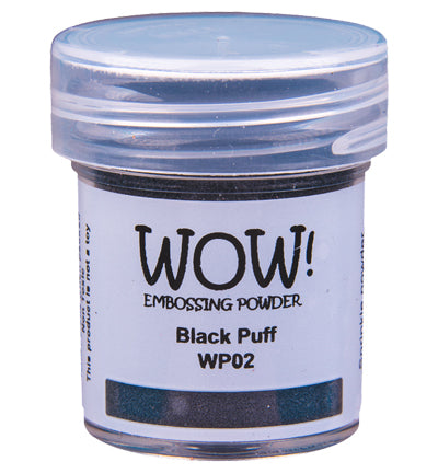 Wow! - Embossing Powder Black Puff Ultra High