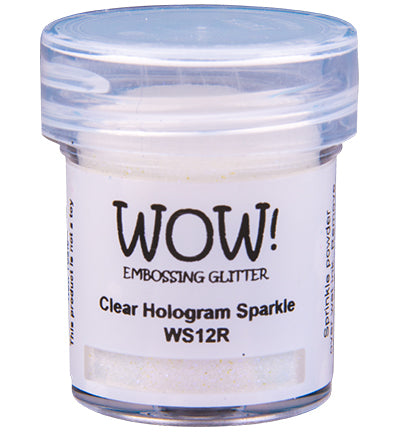 Wow! - Embossing Glitters Clear Hologram Sparkle