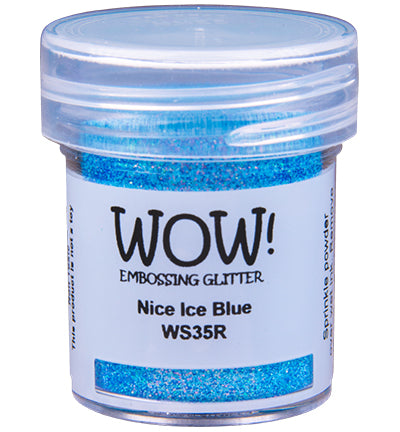Wow! - Embossing Glitters Ice Blue