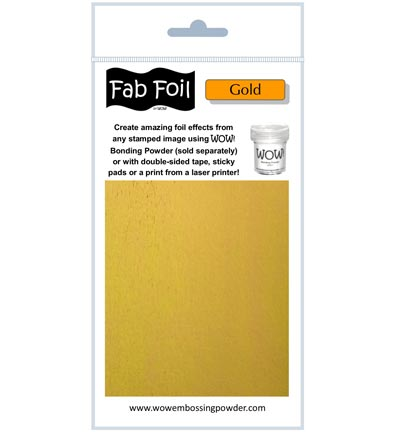 Wow! - Fabulous Foil Bright Gold