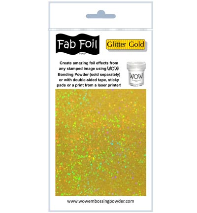 Wow! - Fabulous Foil Glitter Gold