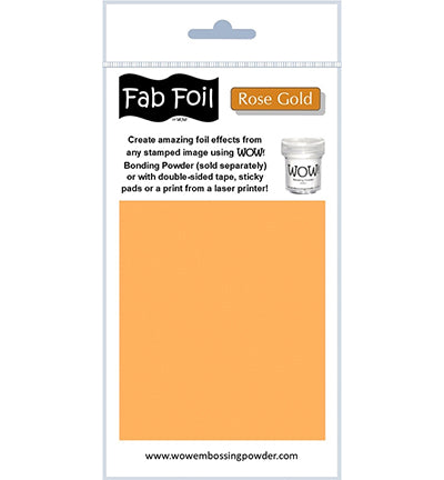 Wow! - Fabulous Foil Rose Gold