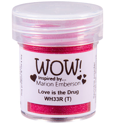 Wow! - Embossing Powder Love is the Drug