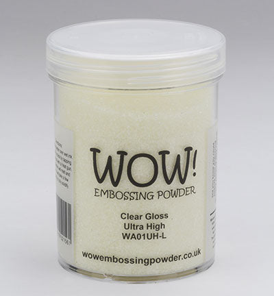 Wow! - Embossing Powder Clear Gloss Ultra High 160ml