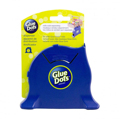 Glue Dots - Desktop dispenser navy