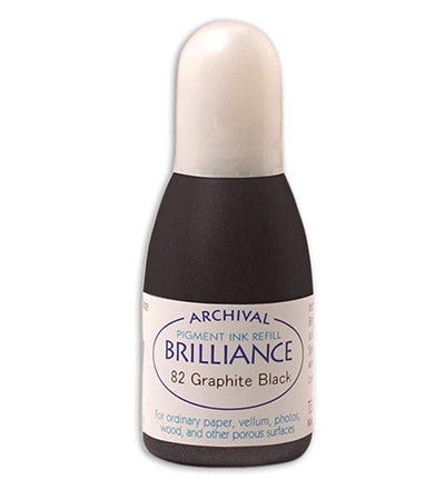 Tsukineko - Brilliance Graphite Black Re-inker