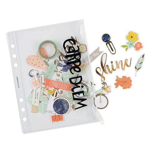 Carpe Diem - Planner essentials plastic storage pouch