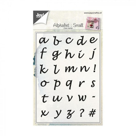 Joy!Crafts - Alphabet Small Clear Stamp