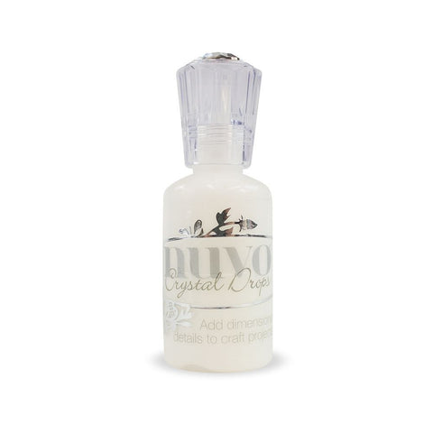 Nuvo - crystal drops gloss white