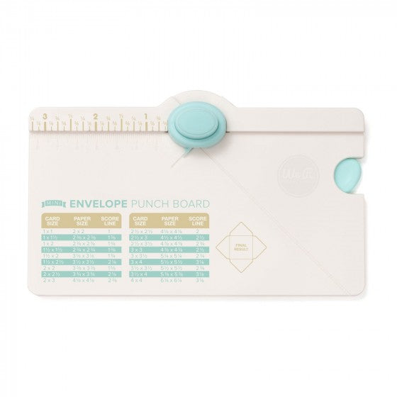 We R Memory Keepers Envelope Punch Board Mini