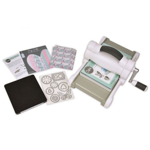 Sizzix Big Shot Starter Kit (A5) White & Grey