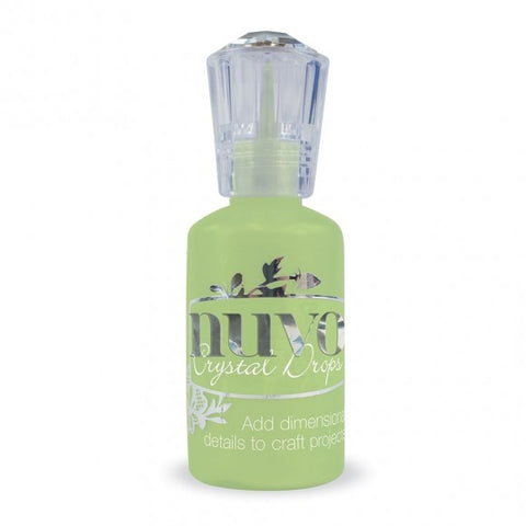 Tonic Studio's - Nuvo Crystal Drops Gloss Apple Green