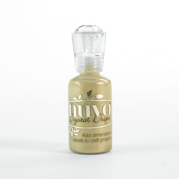 Tonic Studio's - Nuvo Crystal Drops Pale Gold