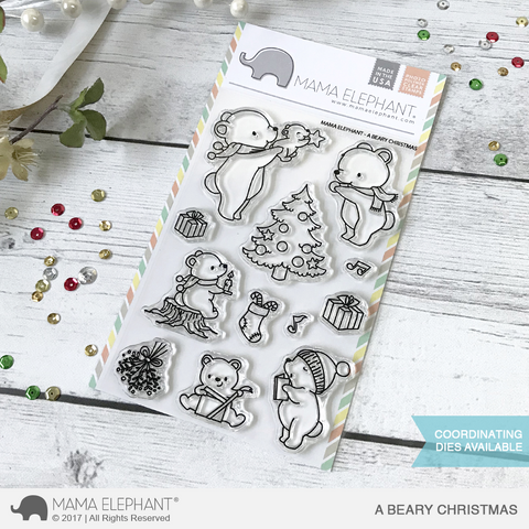 Mama Elephant - A Beary Christmas
