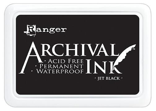 Archival Ink™ Pads Jet Black - Jumbo Pack
