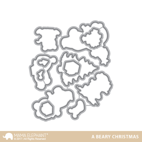 Mama Elephant - A Beary Christmas Creative Cuts