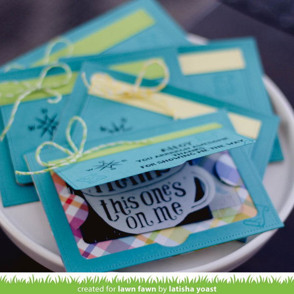 Lawn Fawn - Simple Gift Card Slots