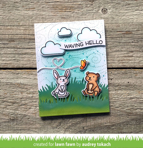 Lawn Fawn - Simple Wavy Banners