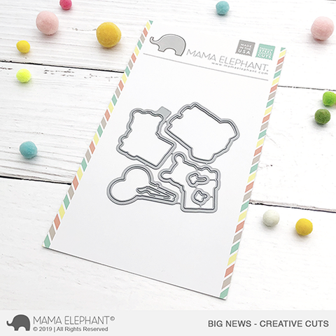 Mama Elephant - Big News Creative Cuts