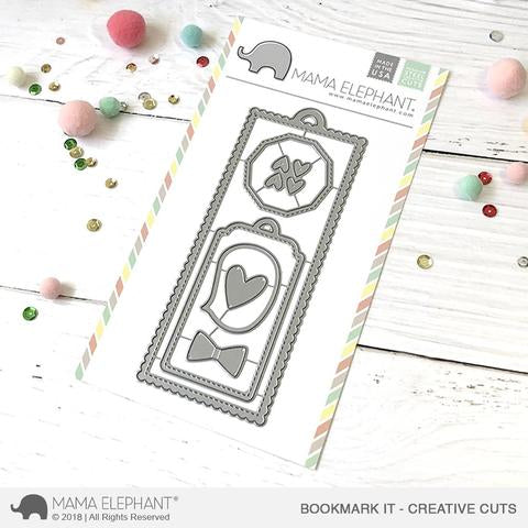 Mama Elephant - BOOKMARK IT - CREATIVE CUTS