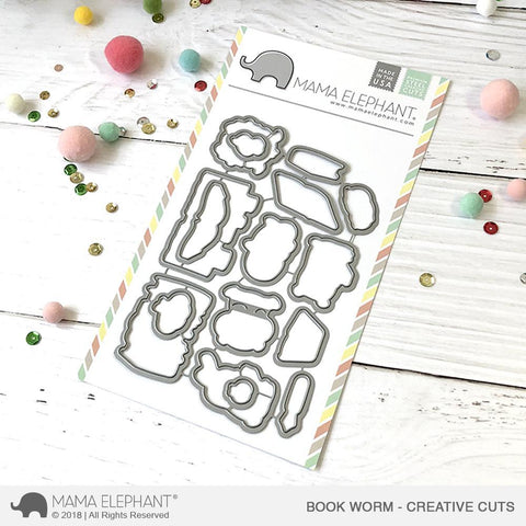 Mama Elephant - Book Worm Creative Cuts