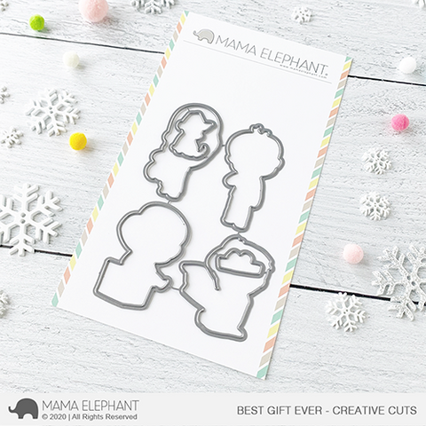 Mama Elephant - Best Gift Ever - Creative Cuts