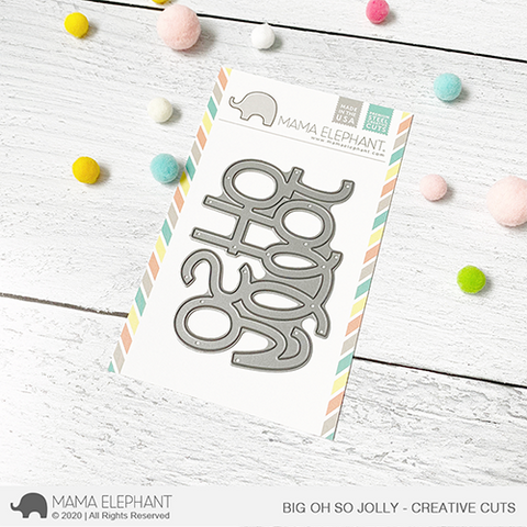 Mama Elephant - Big Oh So Jolly - Creative Cuts