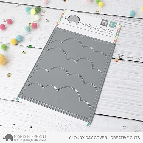 Mama Elephant - Cloudy Day Cover - Creative Cuts