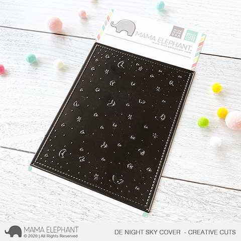 Mama Elephant - DE Night Sky Cover - Creative Cuts