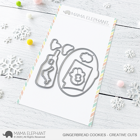 Mama Elephant - Gingerbread Cookies - Creative Cuts