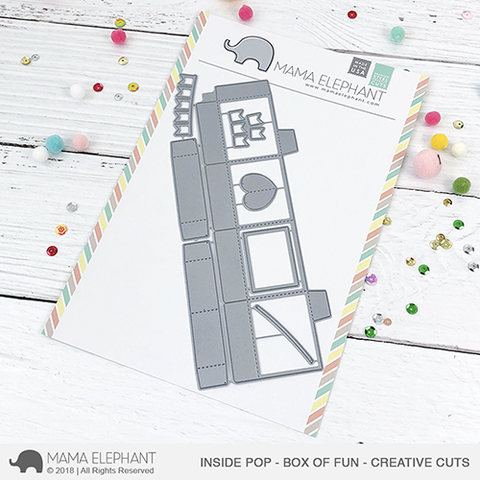 Mama Elephant - Inside Pop - Box Of Fun - Creative Cuts