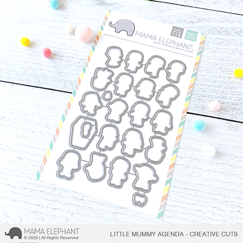 Mama Elephant - Little Mummy Agenda - Creative Cuts