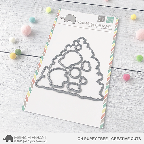 Mama Elephant - Oh Puppy Tree - Creative Cuts
