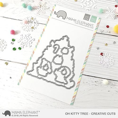 Mama Elephant - Oh Kitty Tree - Creative Cuts