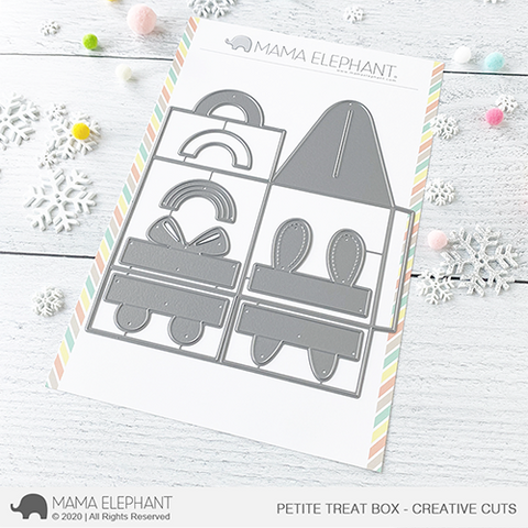 Mama Elephant - Petite Treat Box - Creative Cuts