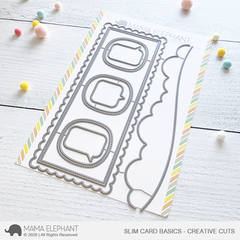 Mama Elephant - SLIM CARD BASICS - CREATIVE CUTS